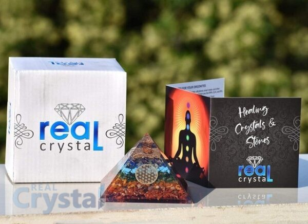 chakra orgone pyramid