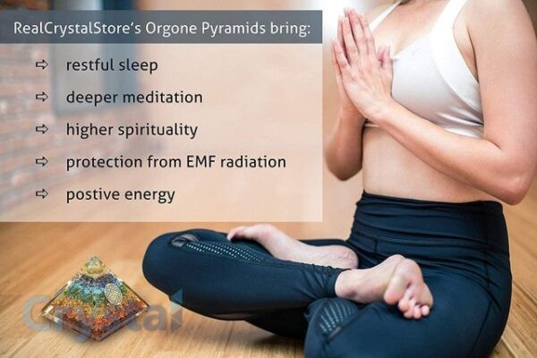 chakra orgonite pyramid