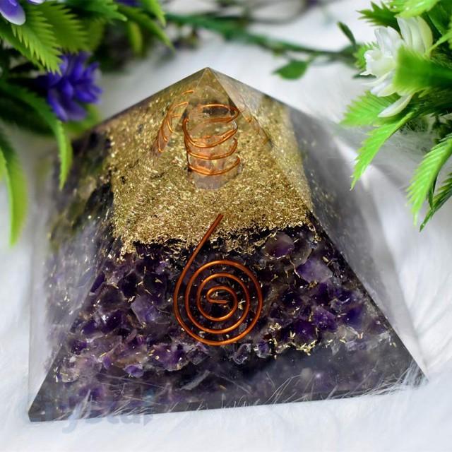 Amethyst Crystal Pyramid