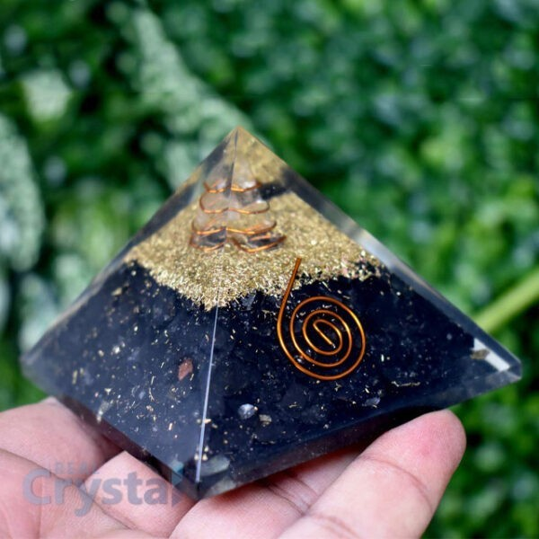 Shungite Emf Protection Pyramid