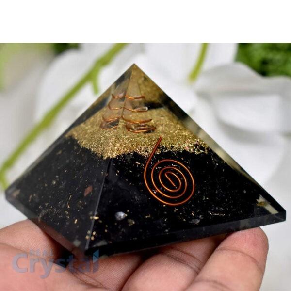 Shungite Orgonite Pyramid
