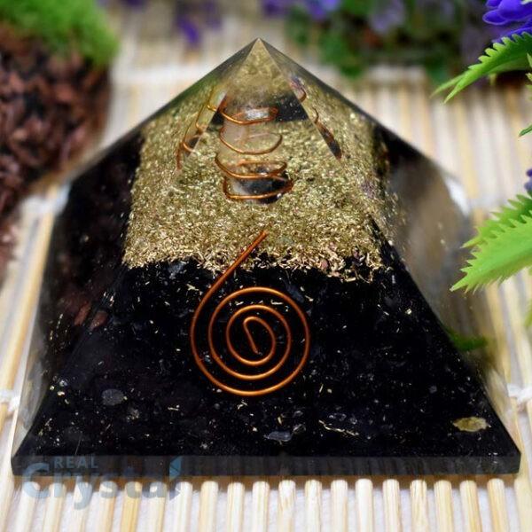 Shungite Stone Pyramid