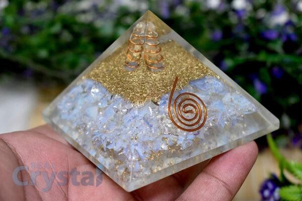 healing benefits of opalite pyramids
