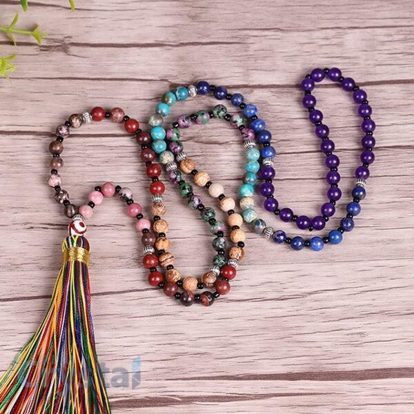 7 Chakra Mala Necklace