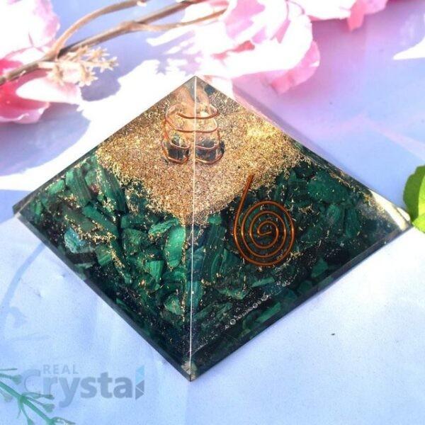 Malachite Orgonite Pyramid