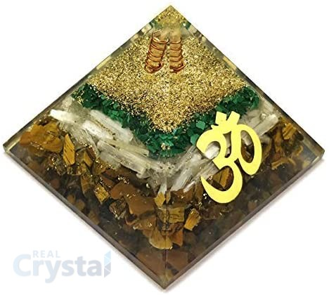 Tiger Eye Orgone Pyramid 2